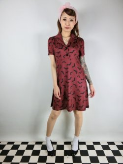 画像1: SOURPUSS ☆LUNA BATS ROSIE DRESS(XS)7号