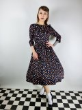 ☆H&R☆Ophelia Polka Dot Swing Dress 15号