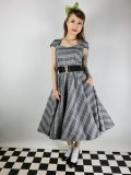 ☆HELL BUNNY☆Frostine 50s Dress(S)11号