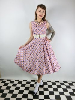 画像1: ☆H&R☆Audrina Swing Dress 11号