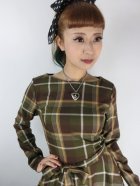 他の写真2: ☆Collectif☆ARWEN MOSSHILL CHECK SWING DRESS Brown 13号
