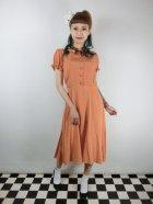 他の写真1: ☆Collectif☆MISTY PLAIN SWING DRESS Orange 13号