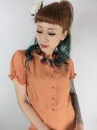 他の写真2: ☆Collectif☆MISTY PLAIN SWING DRESS Orange 13号