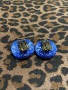 他の写真2: ☆Freddies of Pinewood☆Confetti Lucite Earrings Navy