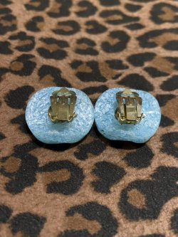 画像2: ☆Freddies of Pinewood☆Confetti Lucite Earrings Turquoise
