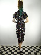 他の写真3: ☆Collectif☆ CATERINA 50S ATOMIC PENCIL DRESS Black 15号