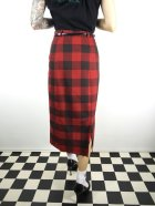 他の写真3: ☆Collectif☆ Bright & Beautiful Willa Ashurst Gingham Skirt Red 15号