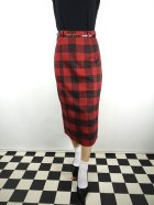 他の写真1: ☆Collectif☆ Bright & Beautiful Willa Ashurst Gingham Skirt Red 15号