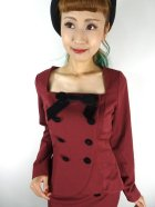 他の写真2: ☆COLLECTIF☆AGATHA PLAIN JACKET Burgundy 13号