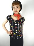 ☆Collectif☆DOLORES 50S ATOMIC TOP  15号