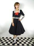 ☆Collectif☆SADIE 50S SWING DRESS Black 13号