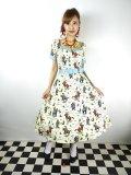 ☆Collectif☆ROBERTA RODEO DANCER SWING DRESS 13号