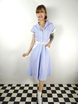 画像1: ☆Collectif☆MARJORIE CONTRAST SWING DRESS 11号