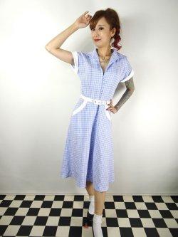 画像2: ☆Collectif☆MARJORIE CONTRAST SWING DRESS 11号