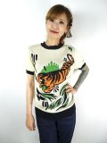 ☆Collectif☆Menswear Scott TIGER  Knitted Top メンズS