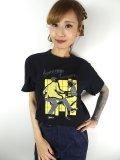 チェリハニプリント☆DANCE Tシャツ ブラック  Size S