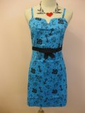 SOURPUSS  SIREN DRESSES BLUE (M)11号